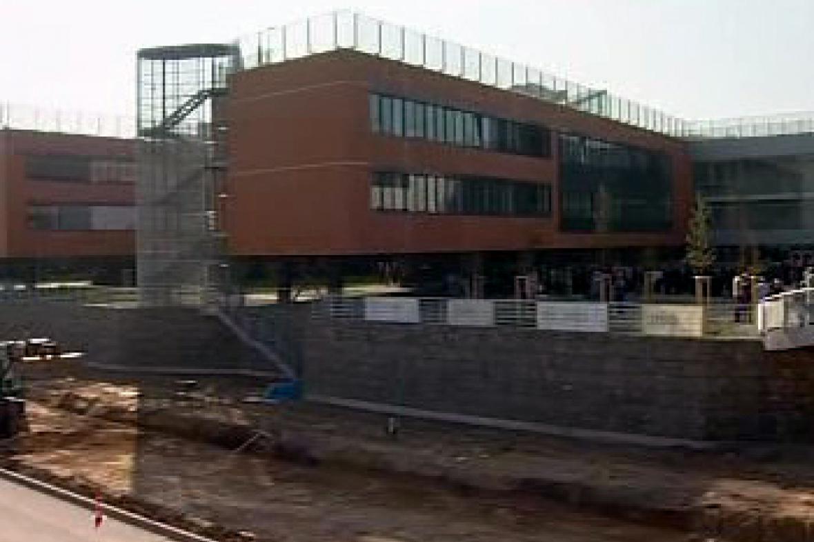 Rozestavěný kampus