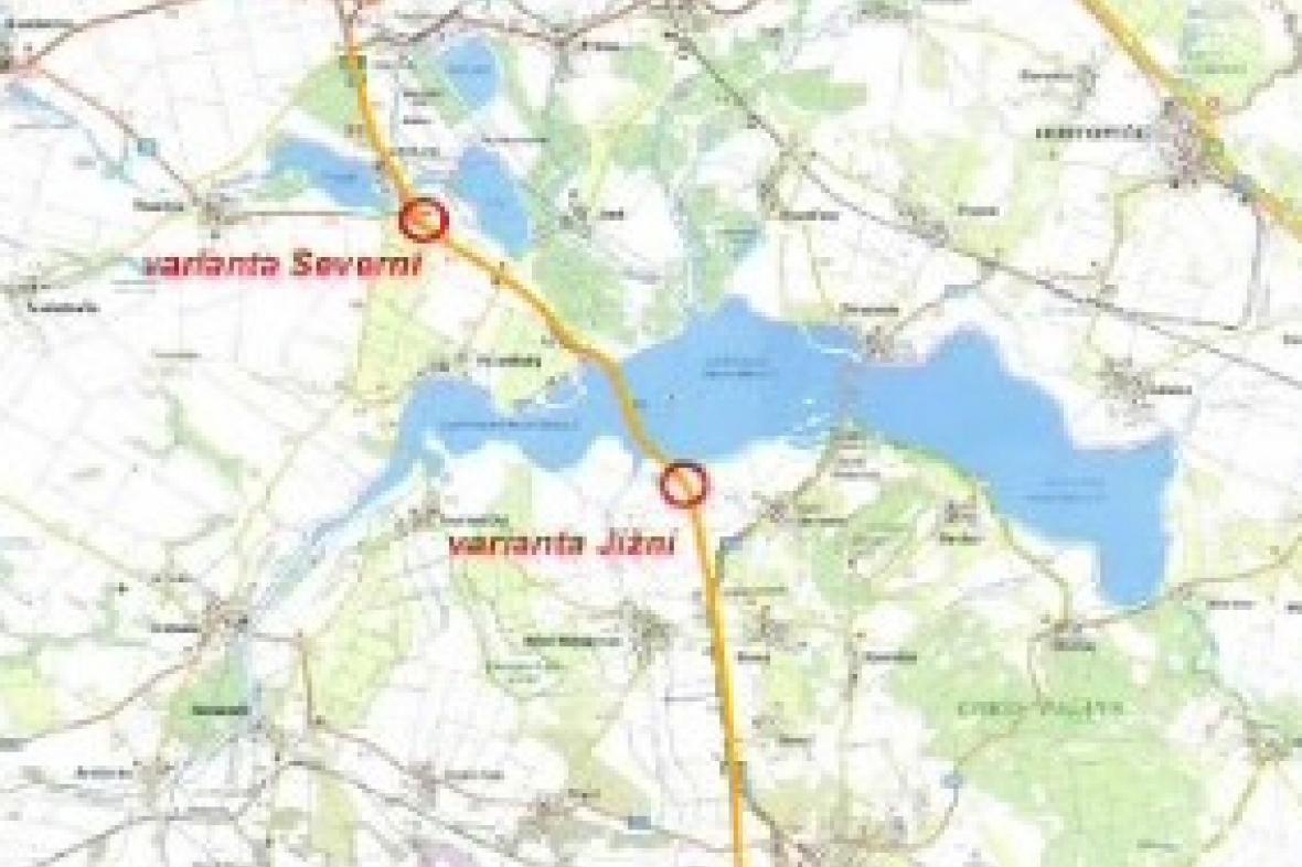 Rychlostní silnice mezi Brnem a Vídní
