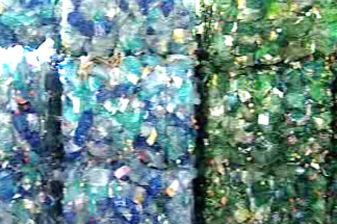 Slisované PET lahve