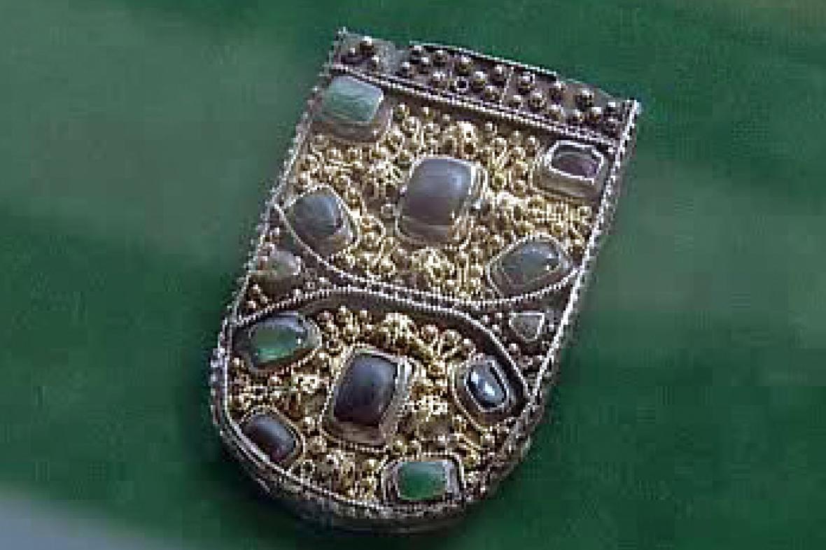 Šperk z doby Velké Moravy