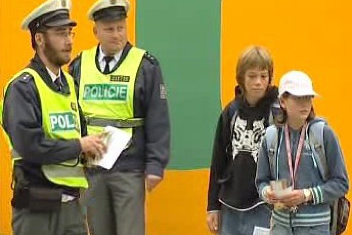 Policie a děti
