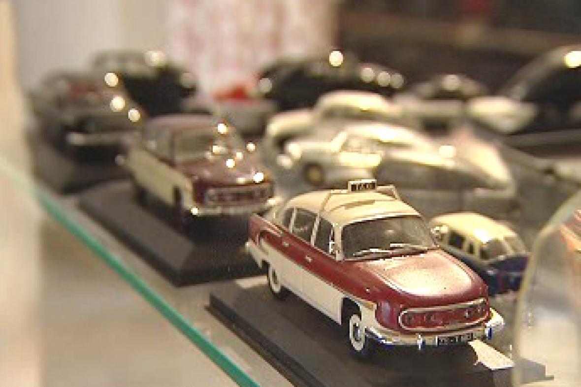 Výstava autíček