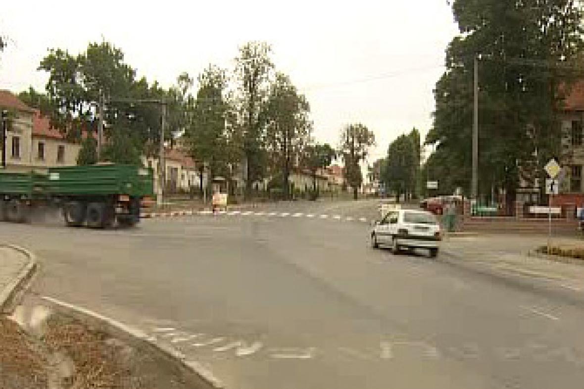 Stará silnice z Brna na Hodonín