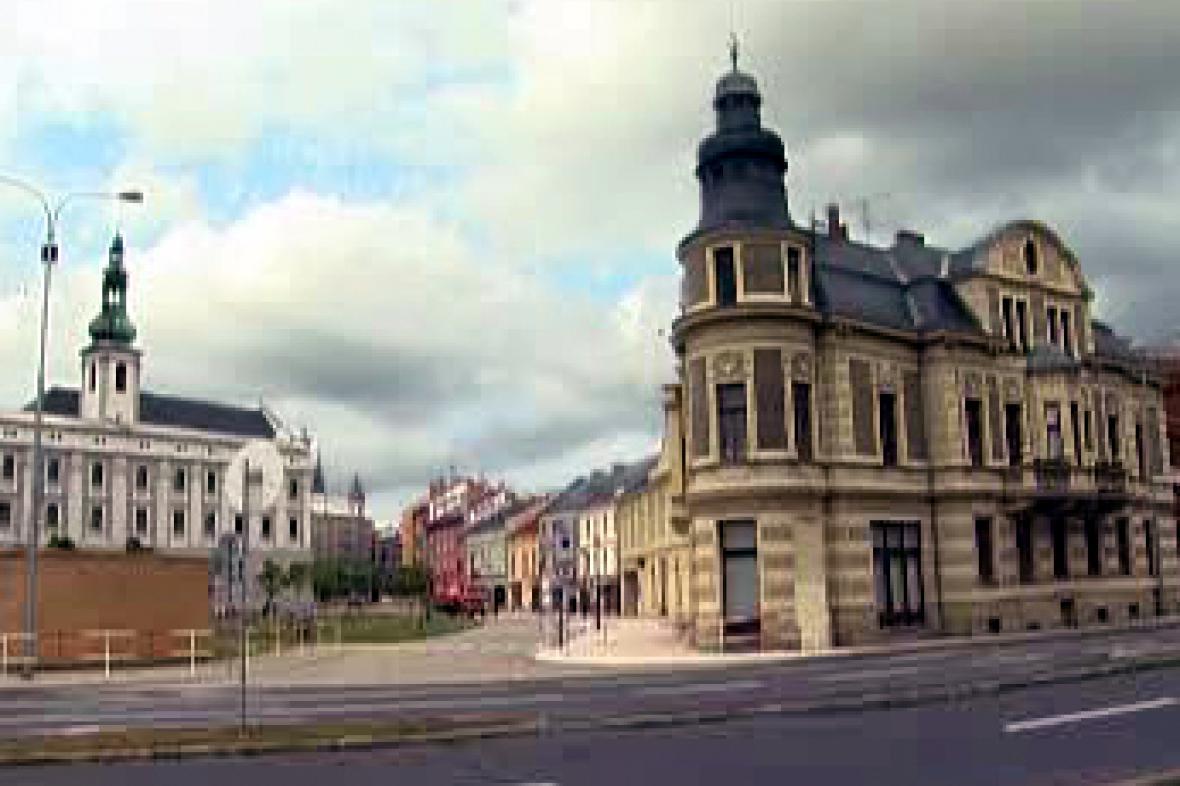 Bytové domy v Opavě