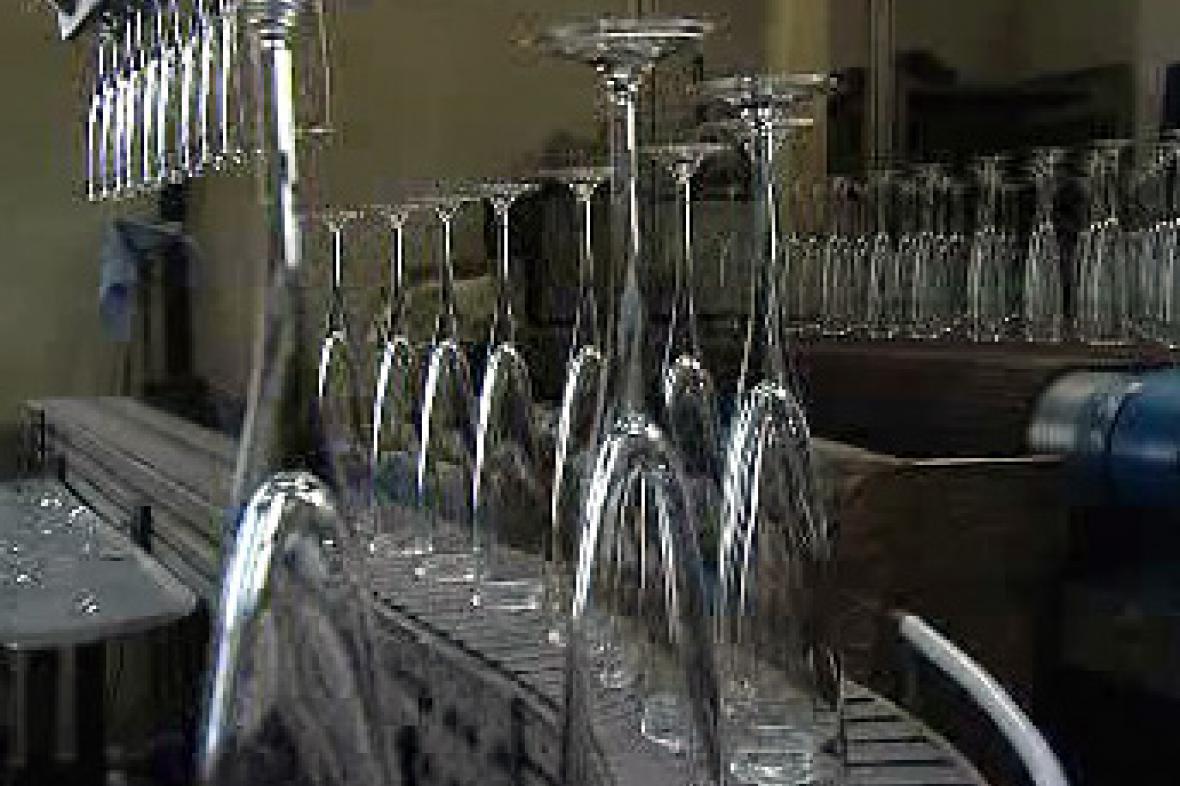 Výroba sklenic