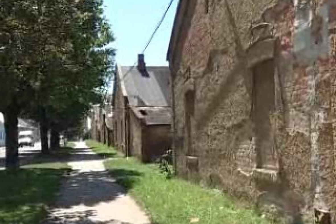 Bývalá dělnická kolonie
