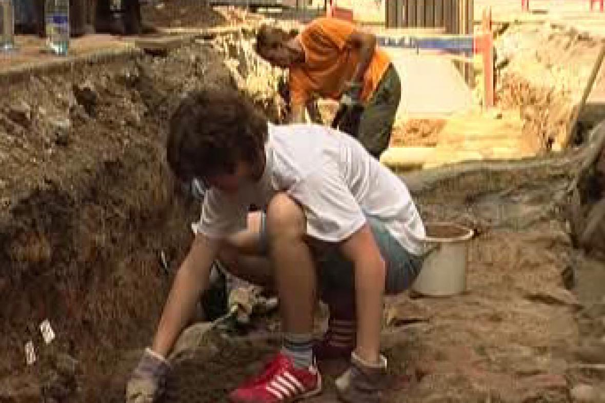 Archeologické práce