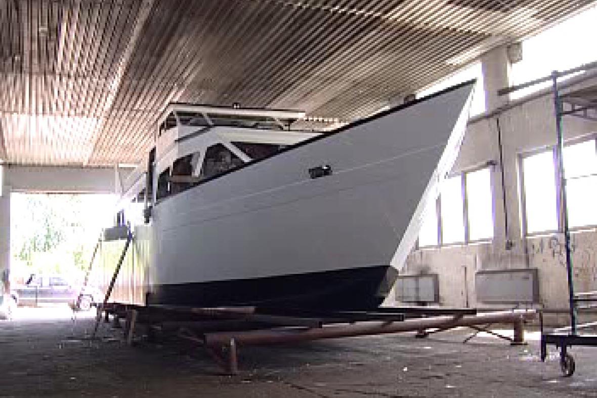 Výletní loď Viktorie