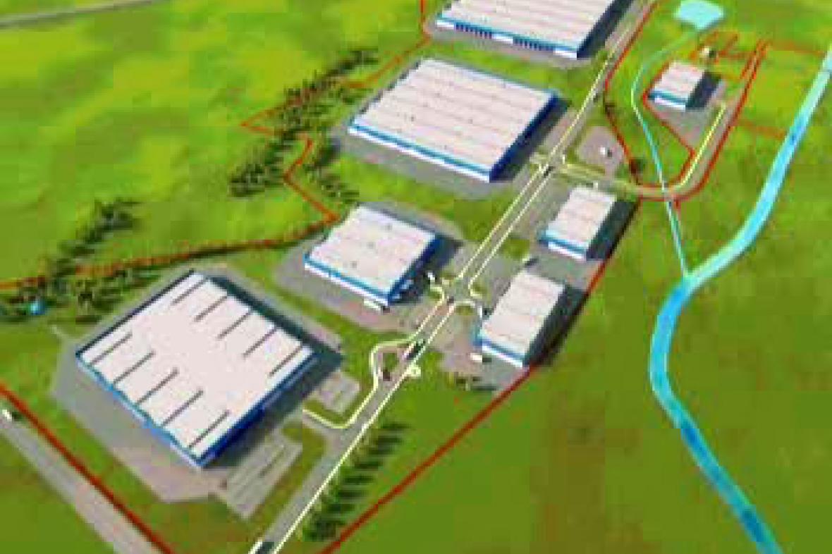 Průmyslová zóna u Třanovic