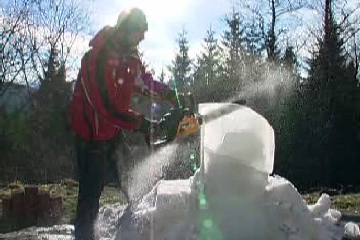 Sněhové království na Pustevnách