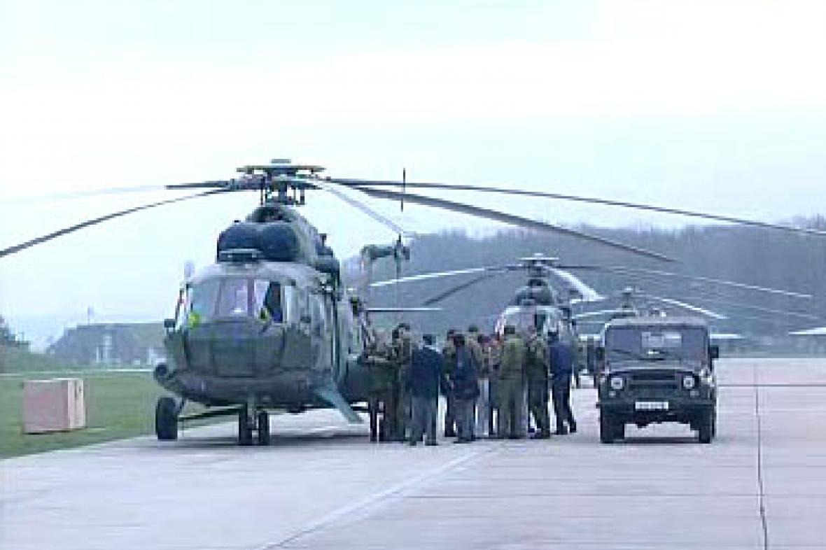 Vrtulníky v Náměšti nad Oslavou