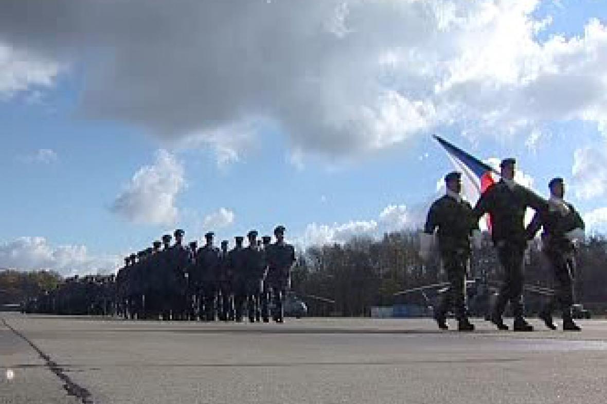 Nástup vojáků