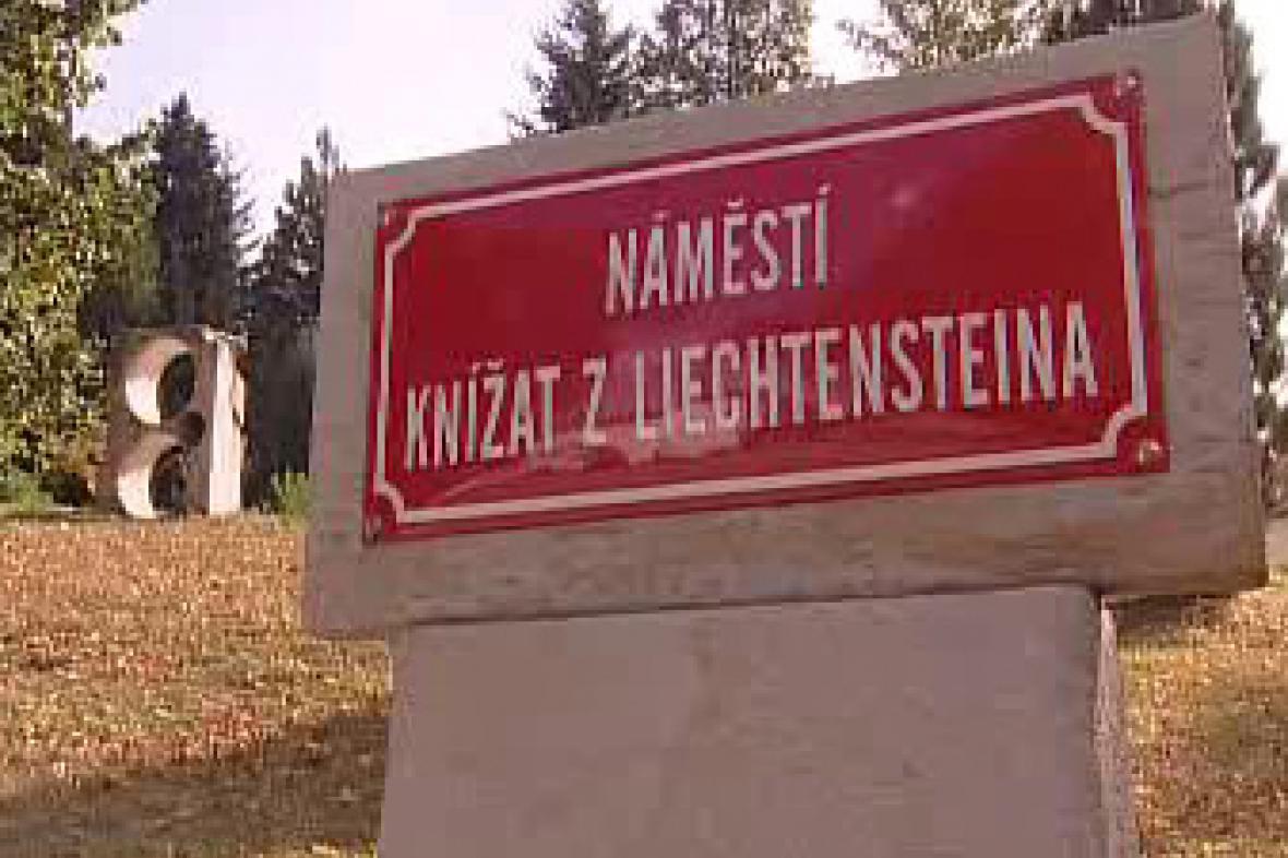 Náměstí knížat z Lichtenštejna
