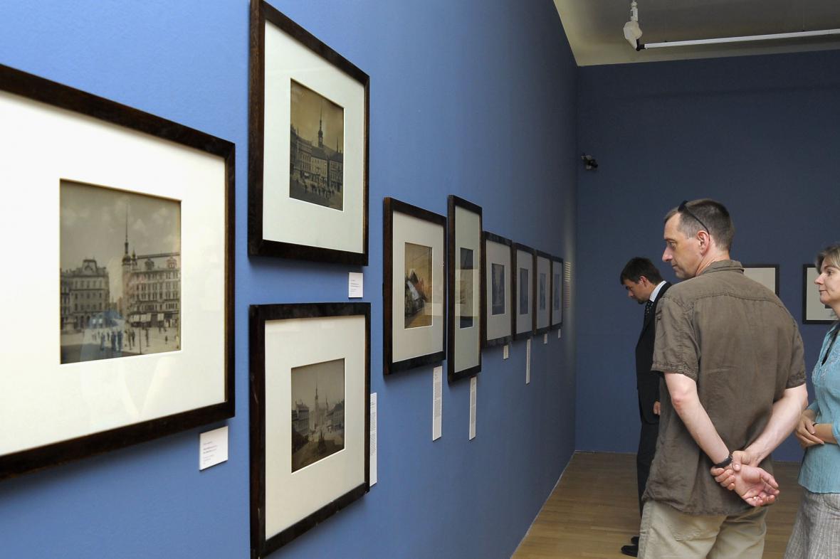Historické fotografie Josefa Kunzfelda