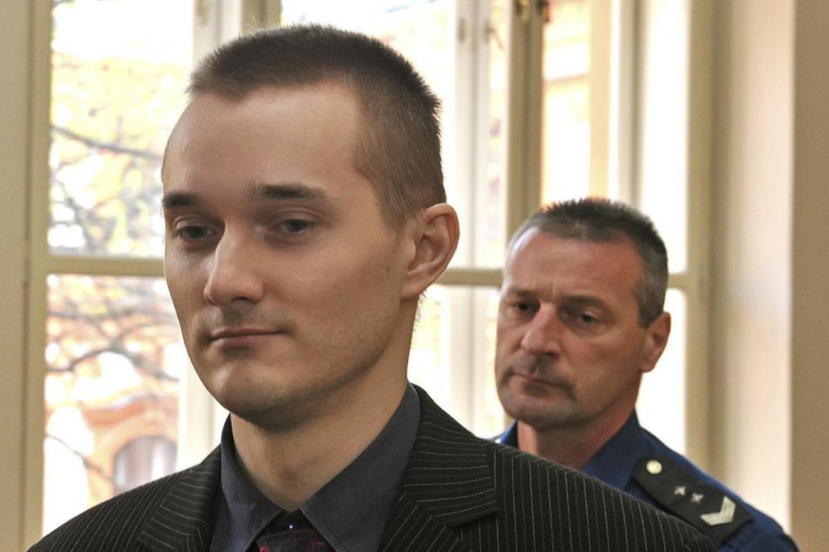 Michal Lukš, který znásilnil baterkou tříletou dívku