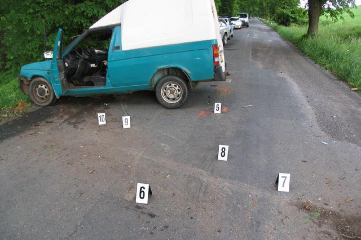Při nehodě u Olešnice zemřela čtyřletá holčička