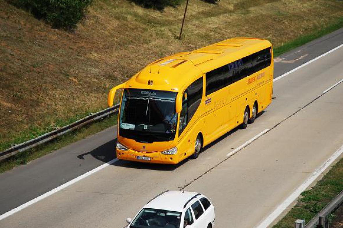 Autobus společnosti Student Agency
