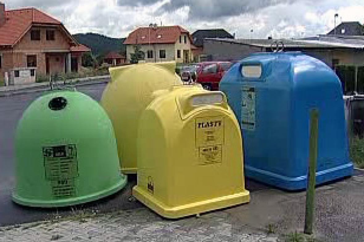 Popelnice pro recyklaci odpadu