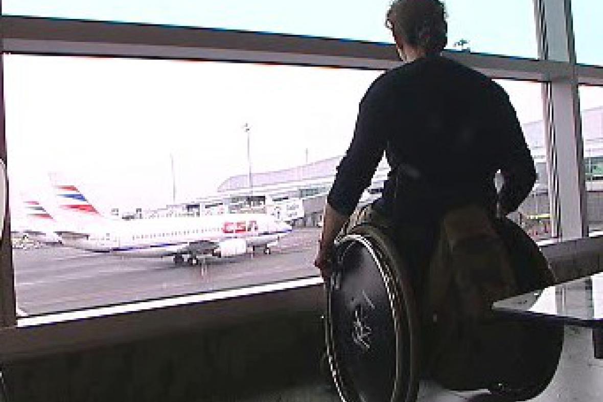 Handicapovaný cestující