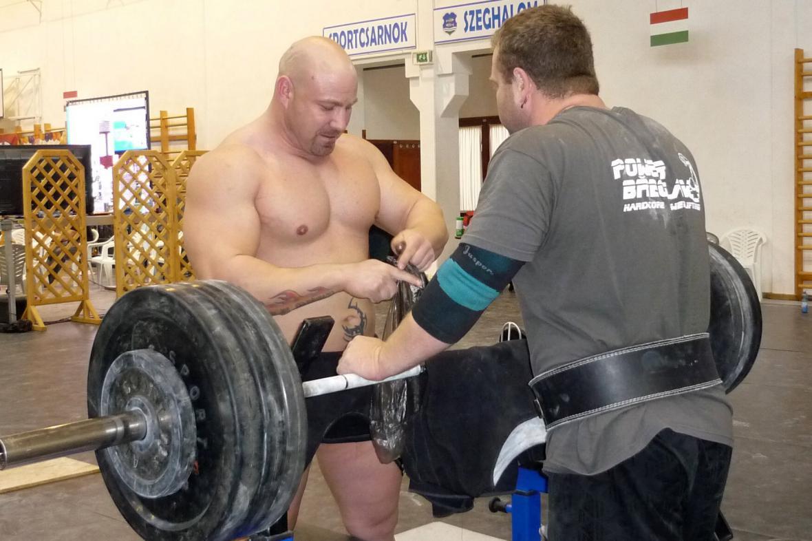 Radovan Kaděra se připravuje na vítězný závod