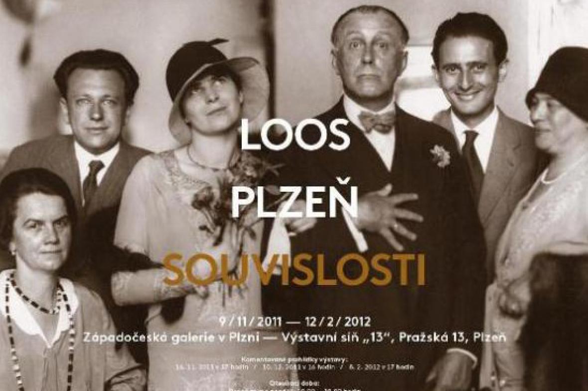 Z výstavy Loos - Plzeň - souvislosti