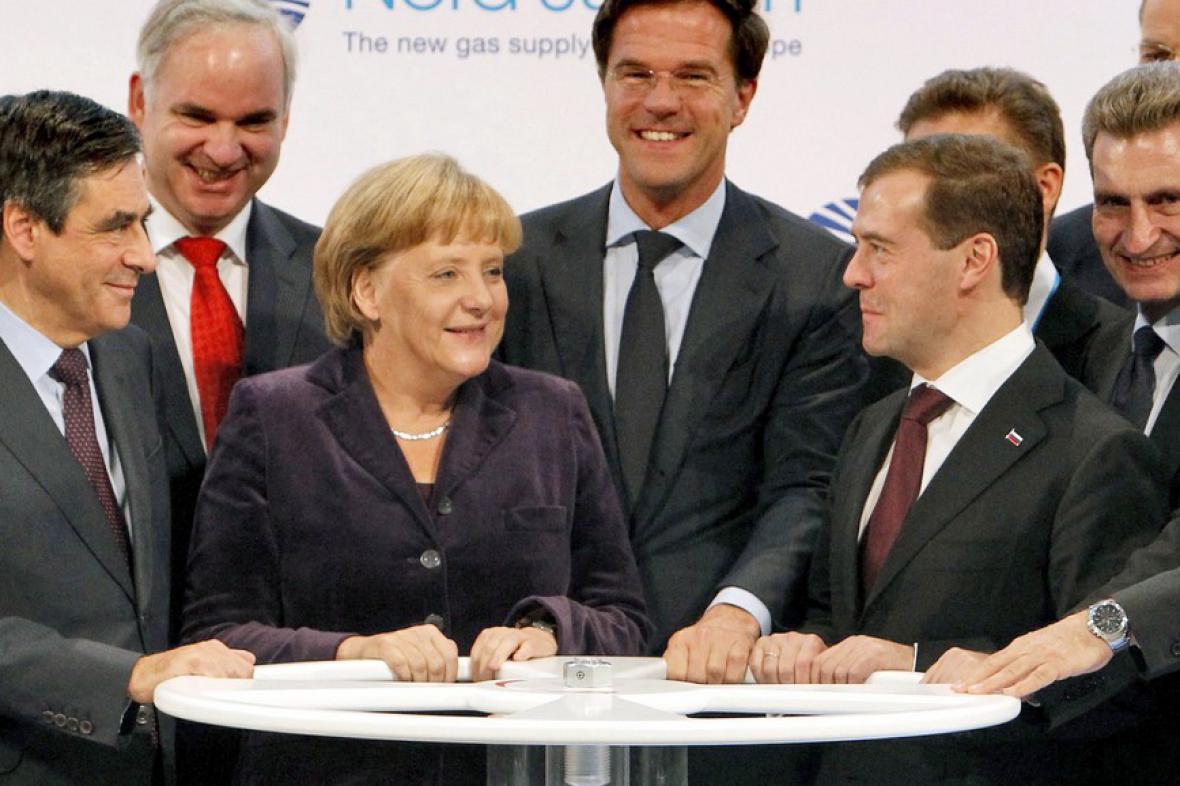 Slavnostní otevření Nord Streamu