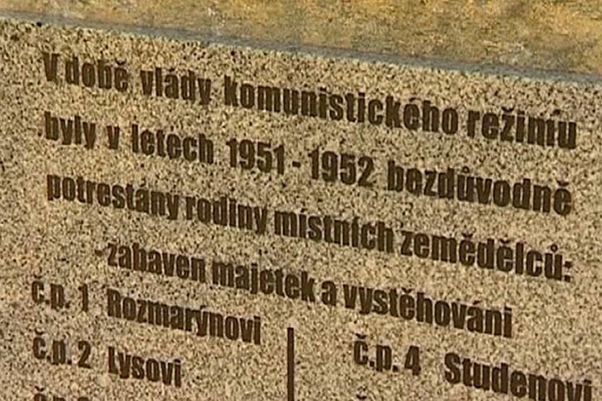 Památník komunistické perzekuce