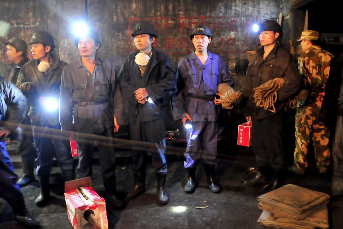 Výbuch v čínském dole