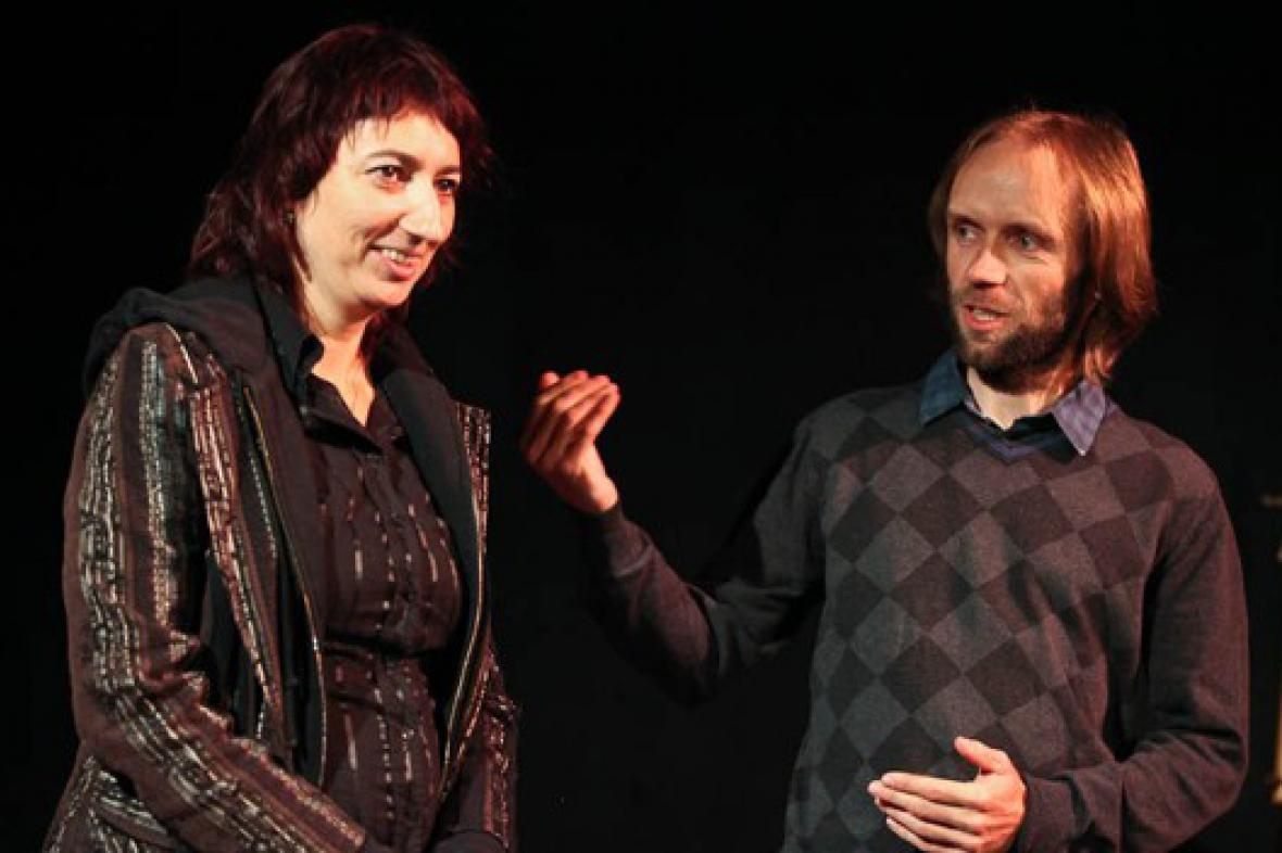 Simona Babčáková v Divadle Kampa