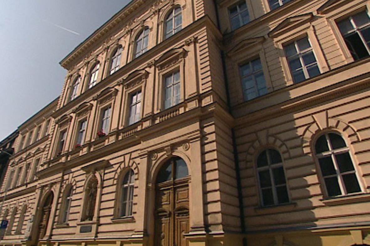 Budova SOŠ/SOU Drtinova