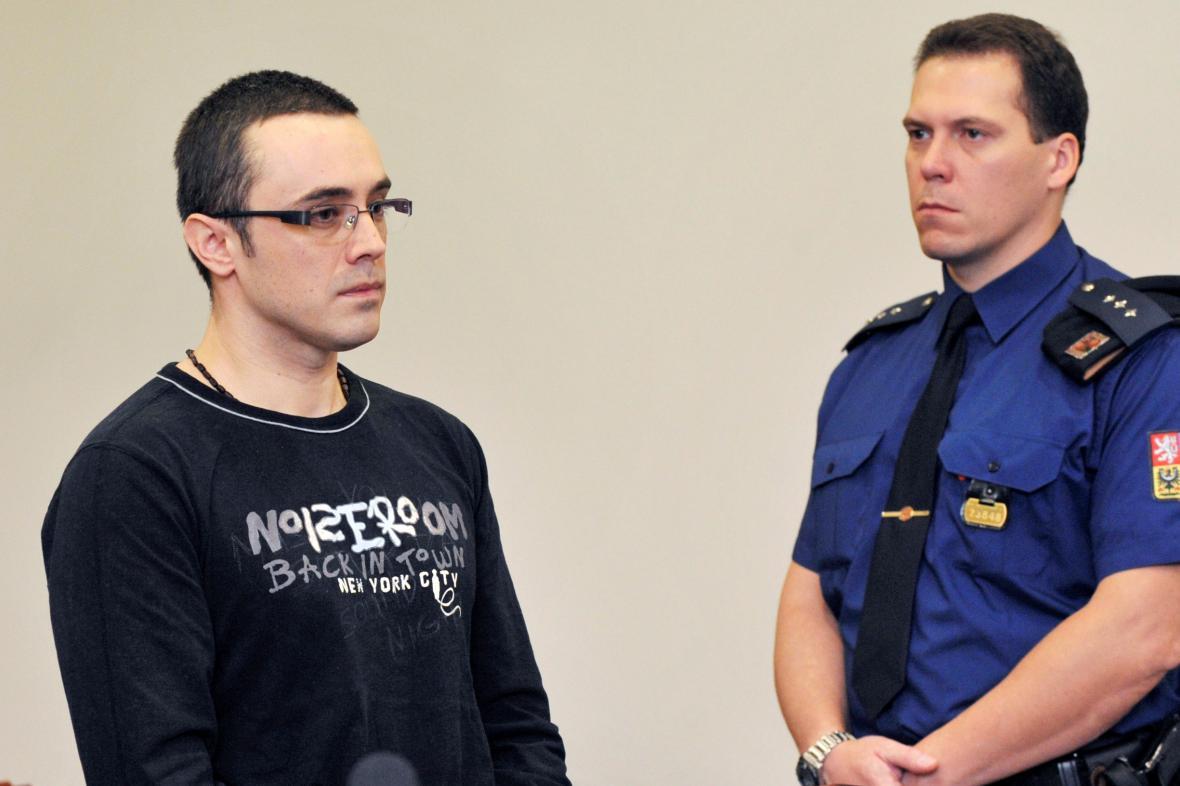 Boris Horák u soudu