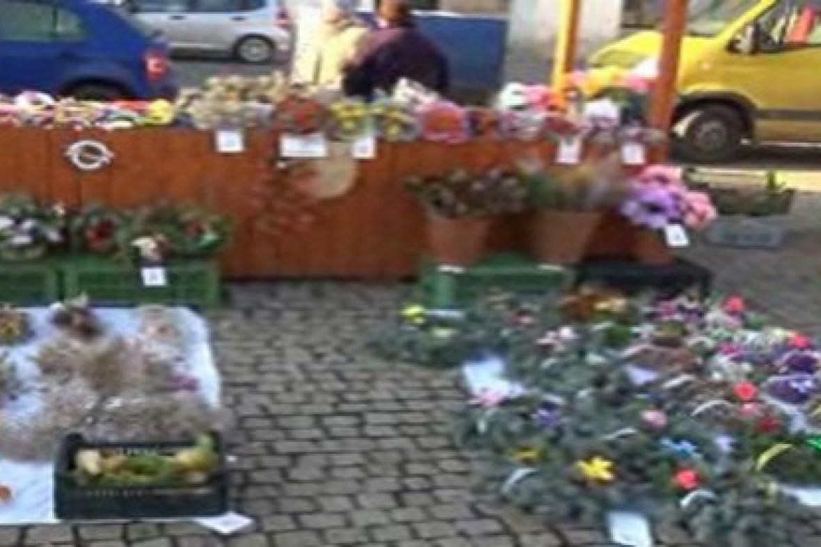 Farmářské trhy v Kolíně