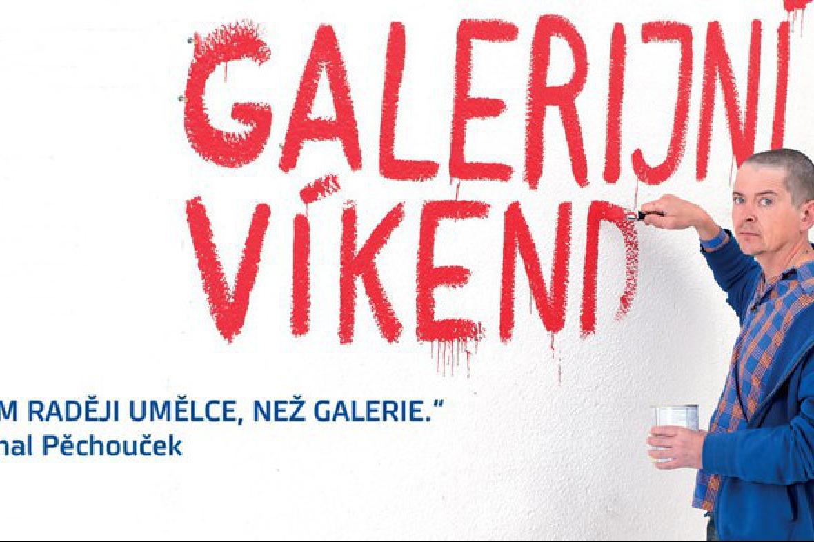Galerijní víkend / poutač