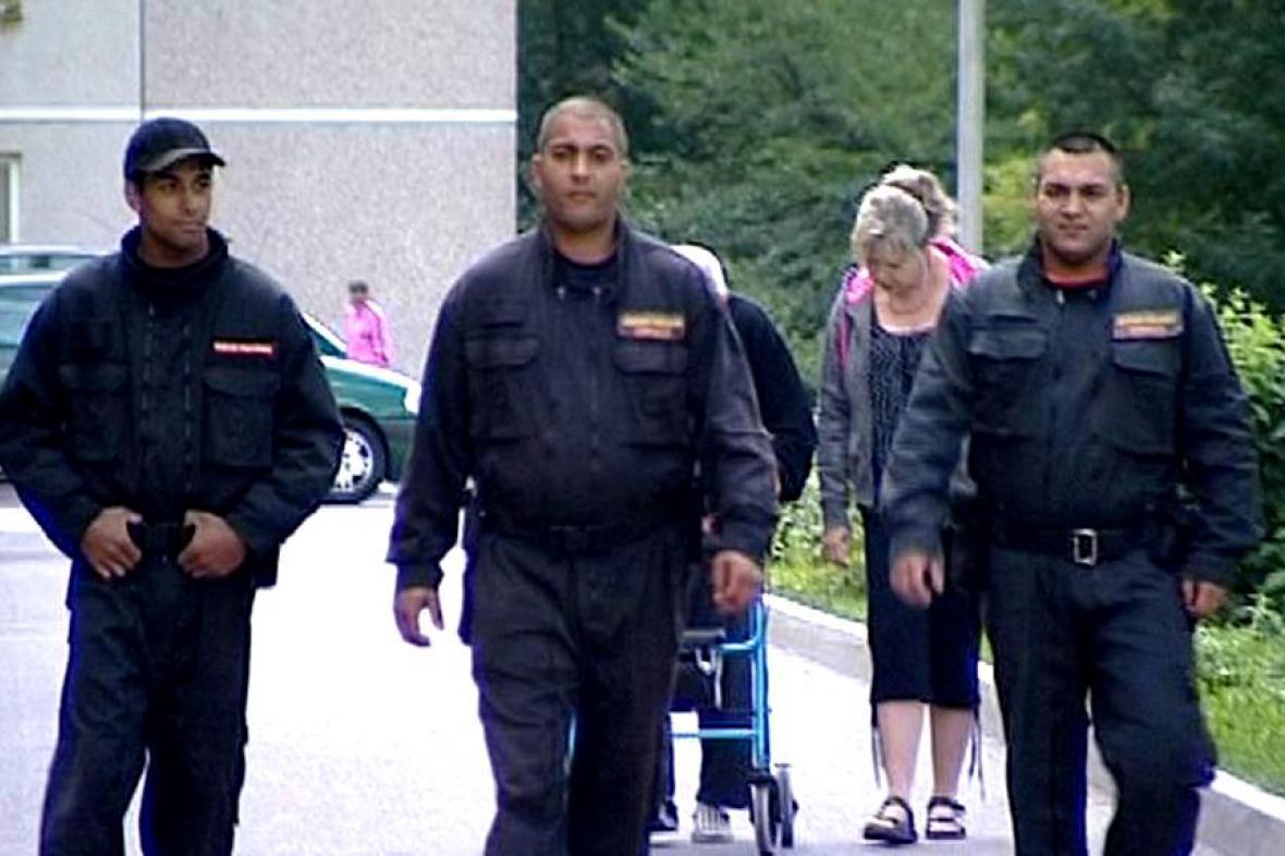 Speciální romská hlídka v Děčíně