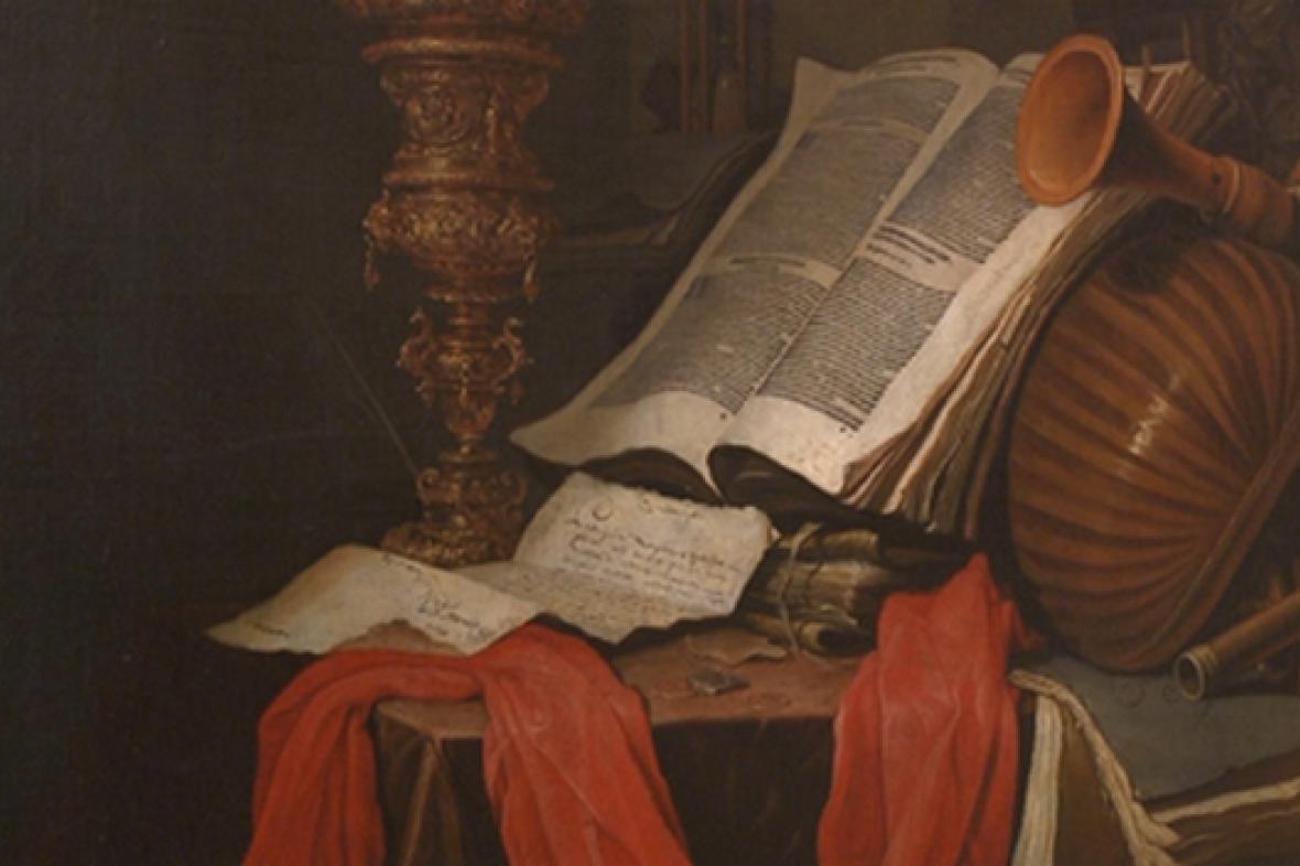 Johannes Vermeulen: Zátiší (detail)