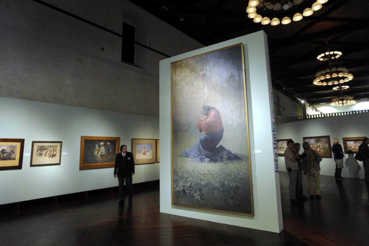 Výstava Joža Uprka (1861-1940): Evropan slováckého venkova