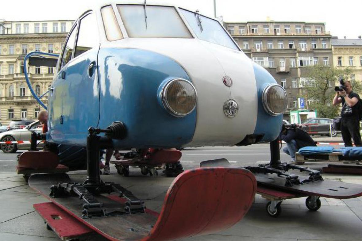 Aerosaně Tatra V 855