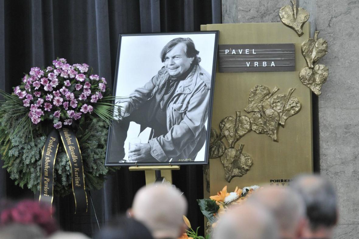 Poslední rozloučení s Pavlem Vrbou
