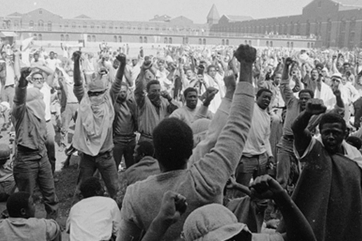 Vězeňská vzpoura v Attice