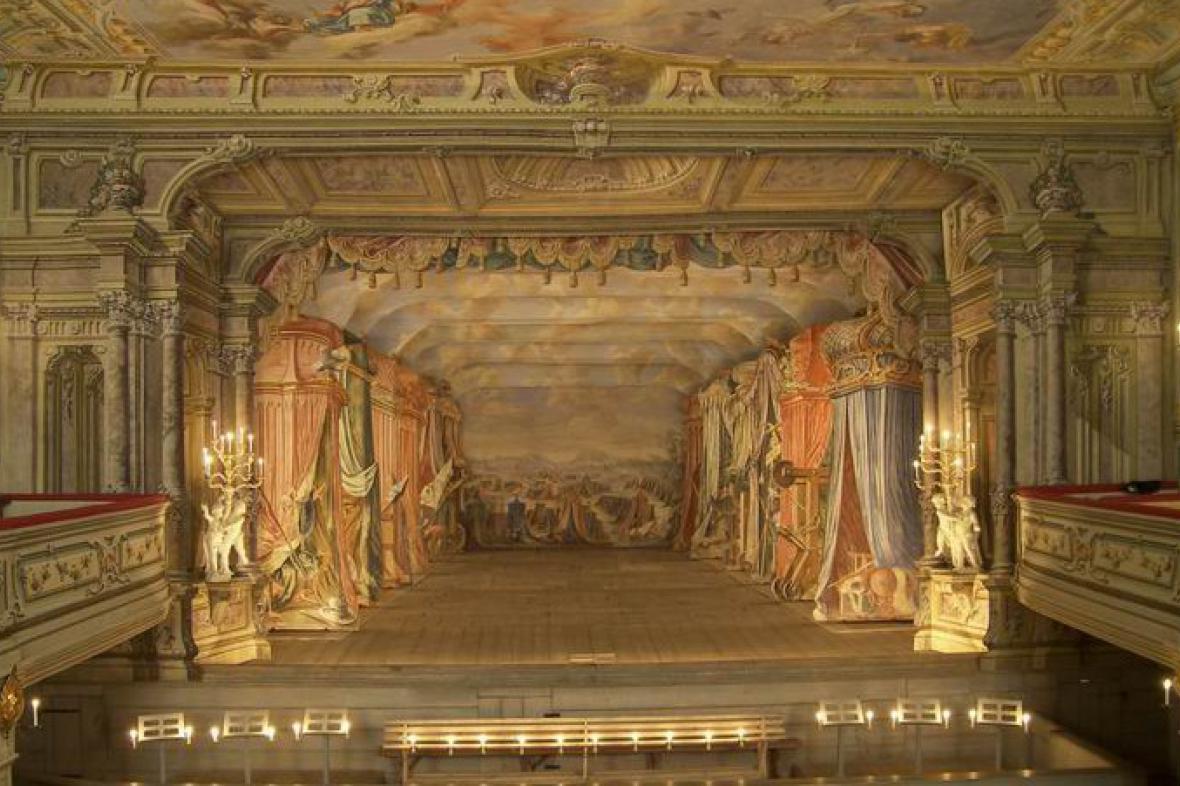 Barokní divadlo na zámku Český Krumlov