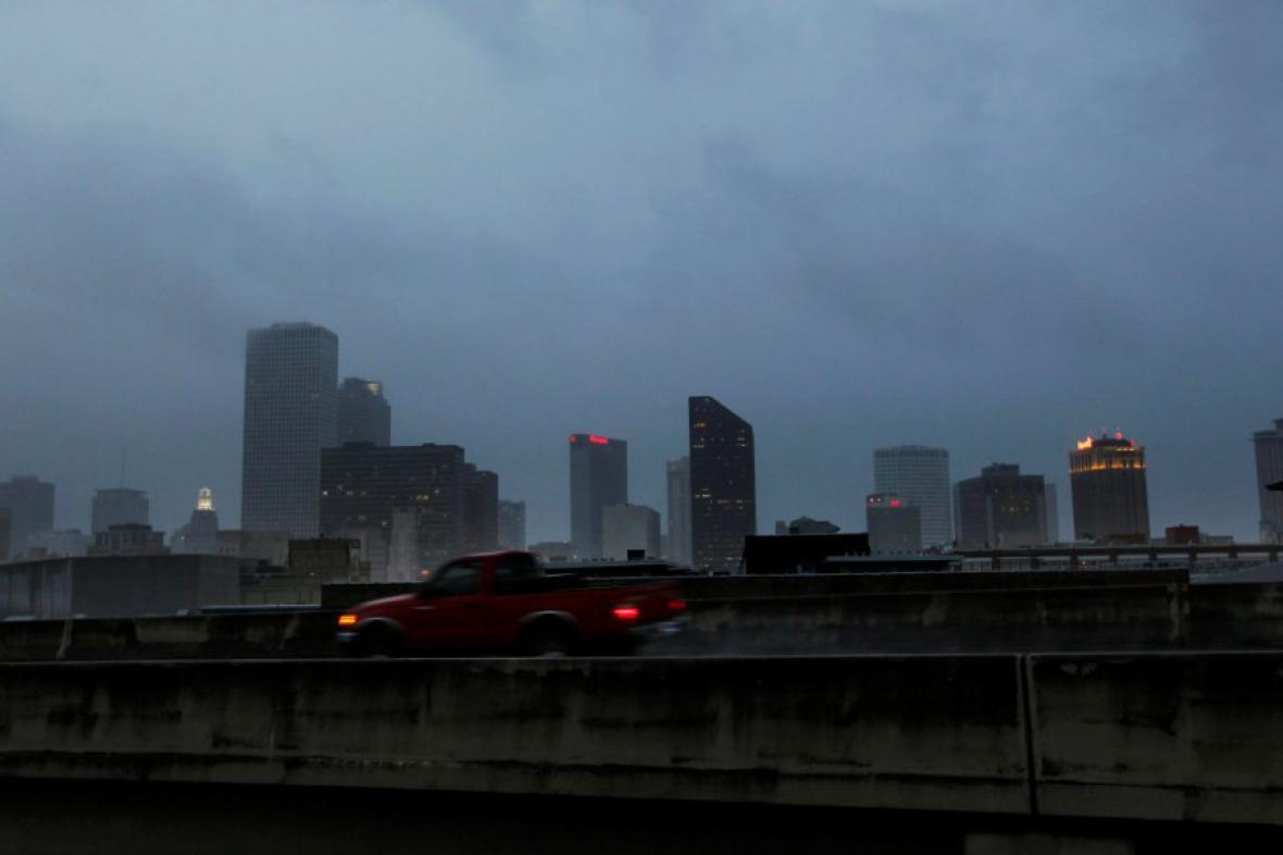 Tropická bouře Lee se blíží k New Orleans