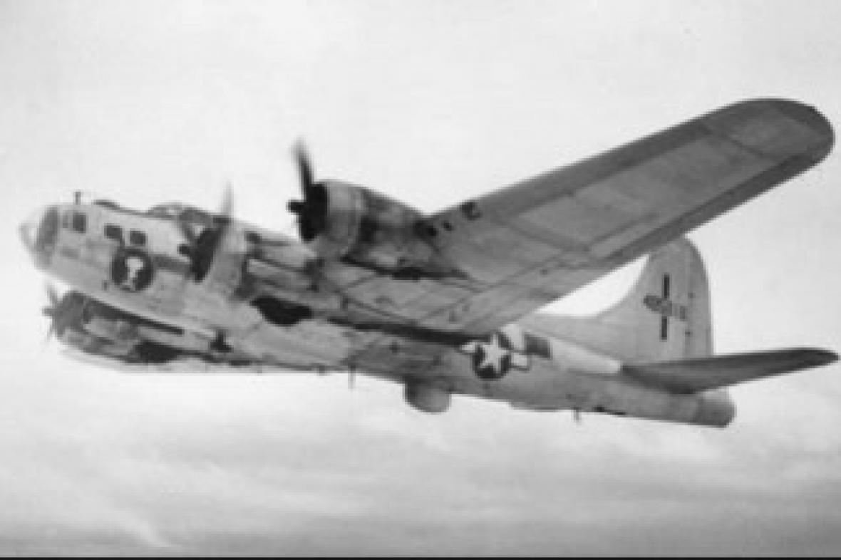 Bombardér B 17