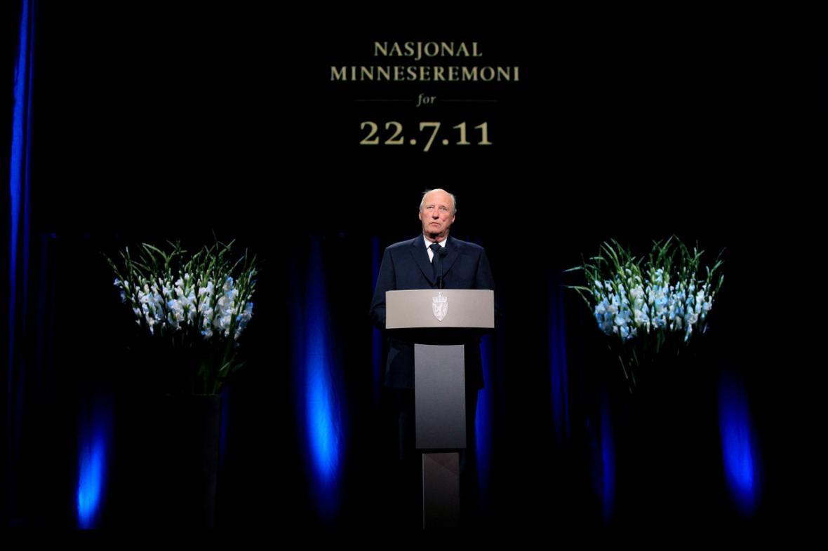 Národní vzpomínka na Breivikovy oběti