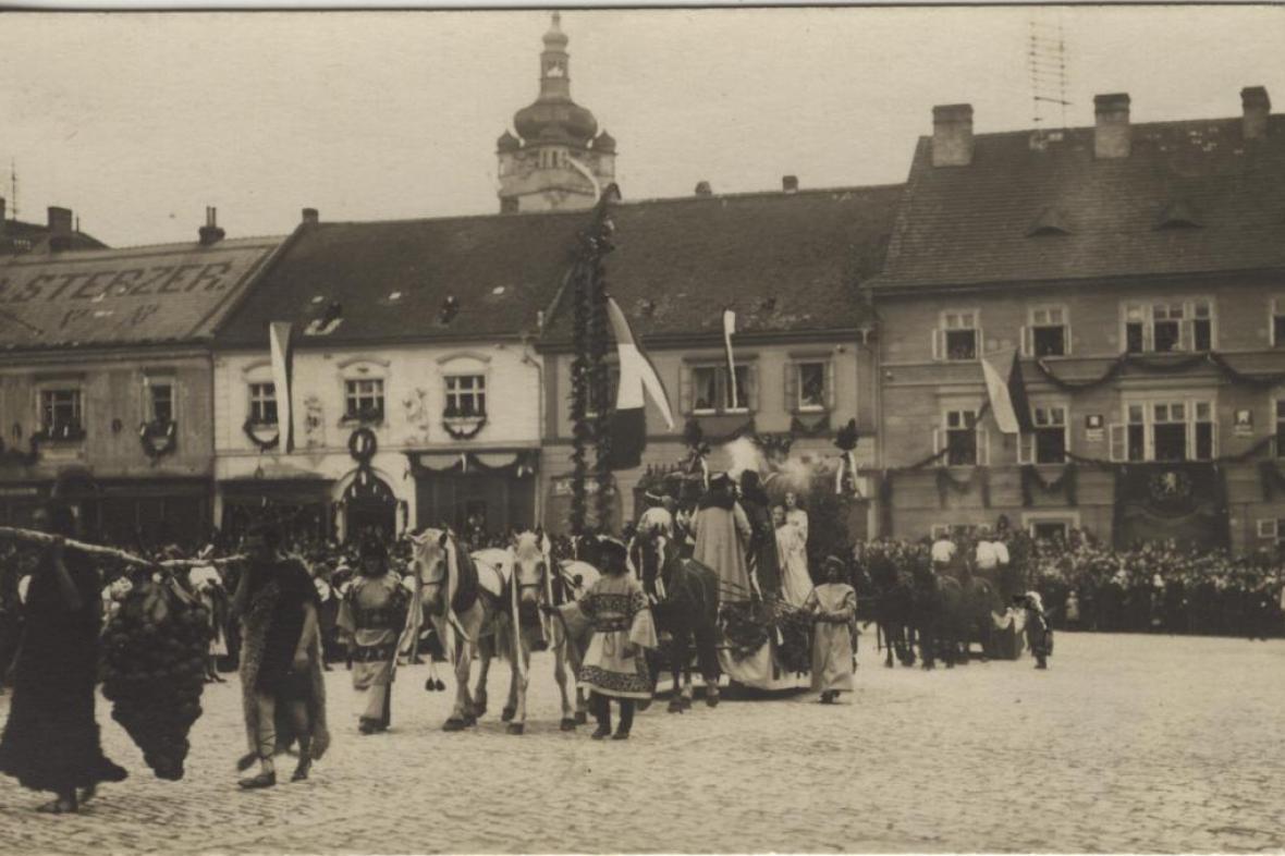 Mělnické vinobraní - archivní snímek