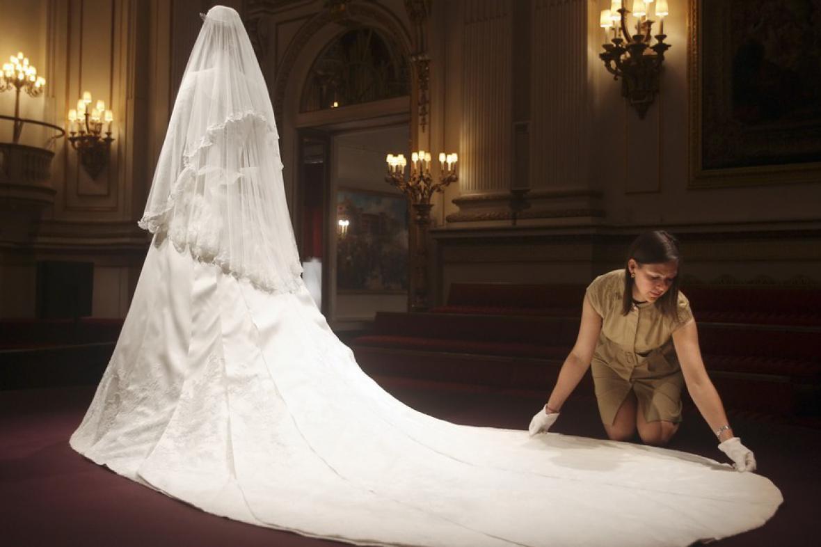 Svatební šaty Kate Middletonové