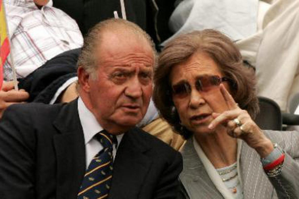 Juan Carlos a Sophia