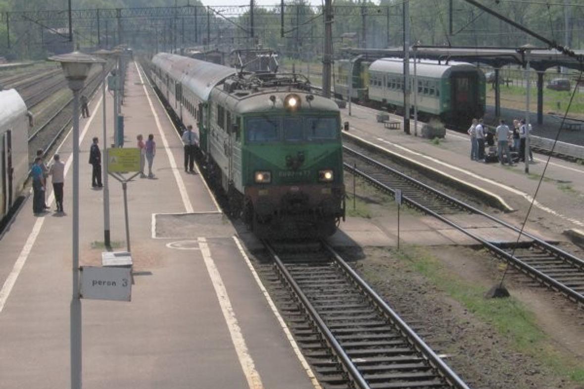 Polské železnice