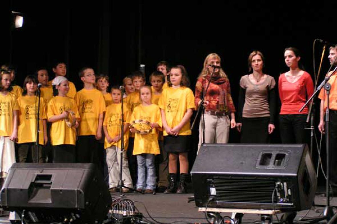 Archivní foto z Benefičního koncertu Scholy Viva v Šumperku