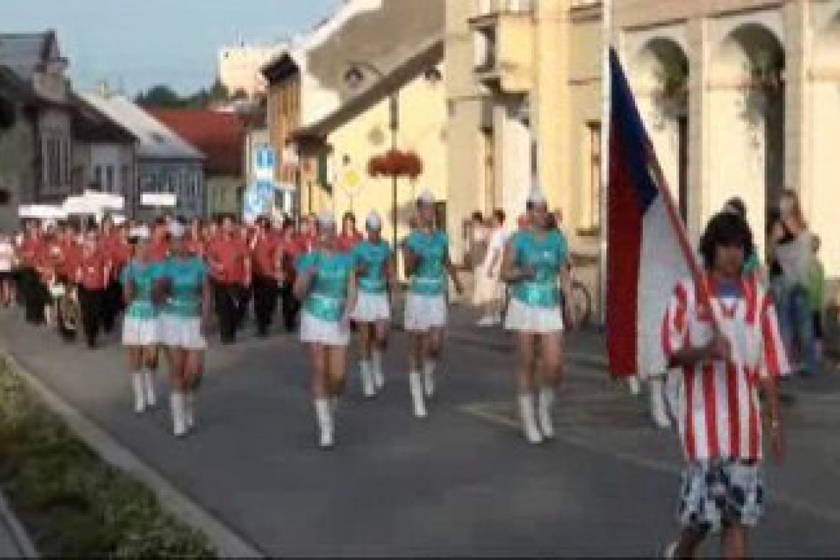 Zahájení 55. žákovského turnaje v kopané v Přelouči