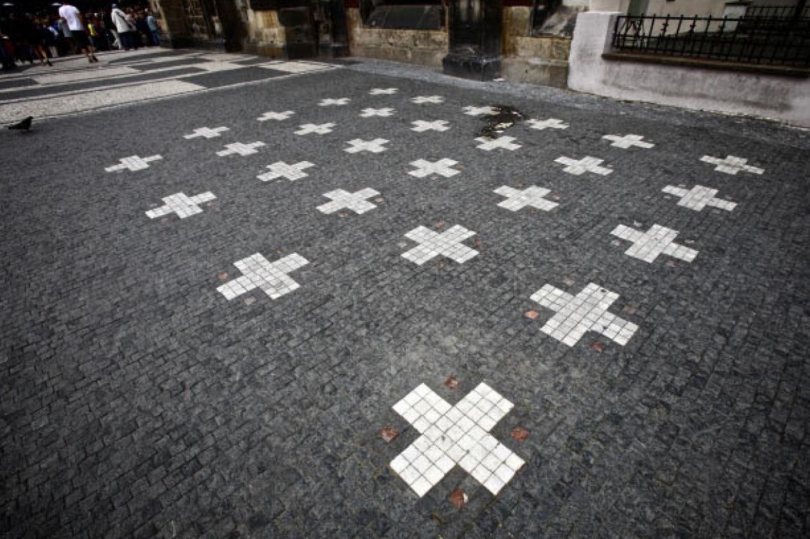 28. kříž od skupiny Ztohoven